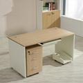 Wooden office computer desk