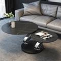 Coffee Table Black Home Living Room