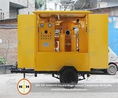 500L/Min Insulating Dehydration Vacuum Oil Purifier 380V 50HZ