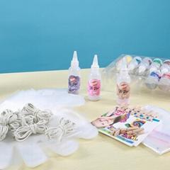 DIY Cotton Fabric 20 Colors Pointed Bottle Tie-dye Art Paint Party Kit Tie Dye