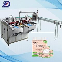 Face tissue baling machine      Facial Tissue Paper Bundle Packing Machine