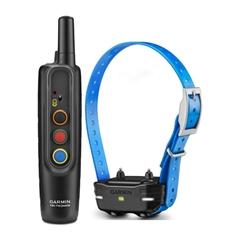 Garmins PRO 70 Handheld Transmitter Unit and PT 10 Blue Dog Collar