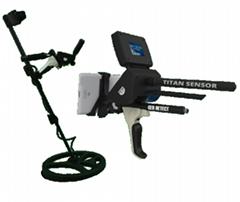 GER Detect Titan 1000 Metal Detector 3D 5 Multi Systems Deep Geolocator