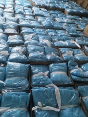 Xiantao manufacturer Non-Woven Blue Isolation Gown Disposable Gown