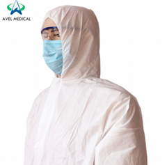 High Quality Disposable Anti Dust Protective Workshop Isolation Gown