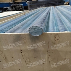 Best price spiral welded perforated metal mesh tubes