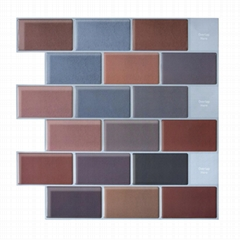3D DIY Peel and stick wall tiles wall paper