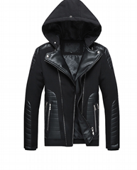 Men's cotton padded jacket men's and women's fashion cross border 2021 new fur c