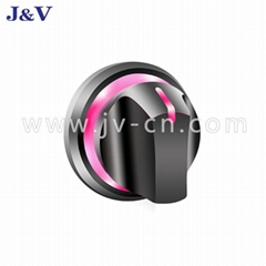 J&V Grill Oven Color Changing and Glowing BBQ Pink Blue Knob Light