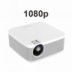 2021 LCD projector 1080p Full HD support 4k led video beamer proyector wireless
