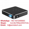 Halloween gift p30 dlp mini projector portable led video projecter for home use
