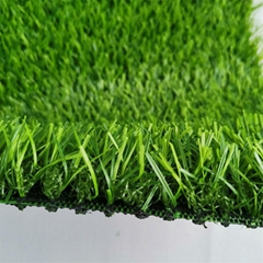 green artificial grass for landscape garden and pool