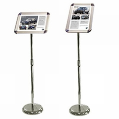 Telescopic Snap Frame Poster Stand
