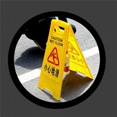 A字警示牌告示牌个性小心地滑牌子装饰专用车位门前标志禁止停车