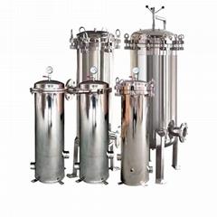 保安过滤器 水处理 精密过滤器 30寸7芯 PP棉过滤桶