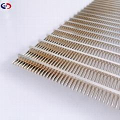 不锈钢0.4 0.5 0.6 0.7mm 缝隙楔形网