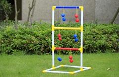 Children Outdoor Sport Ladder Toss Golf Ball Game Set