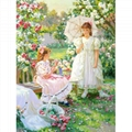 Best-selling customized made diy digital oil painting by numbers without frame