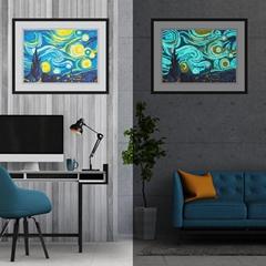 room decor abstract custom picture scenery landcsape diy diamond painting set