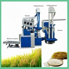 15T Rice Mill Machine