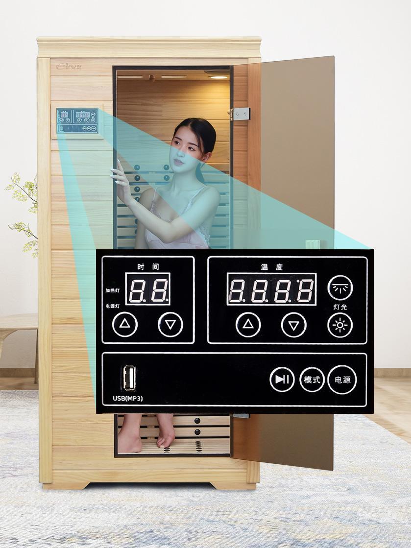 Home Sauna Room 2