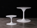 Tulip Table Oval Tulip Table Carrara Marble Dining Table base