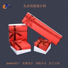 custom ring magnetic jewelry packaging gift paper box