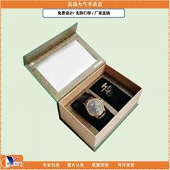 订制纸品开窗手表礼品包装盒
