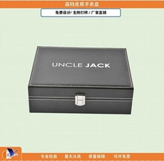 Wholesale Luxury Watches Display Cases Handmade Leather Watch Box