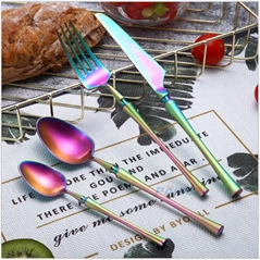 Handle Stainless Steel Cutlery Set Tableware Cutlery Kitchen Dinner Knife