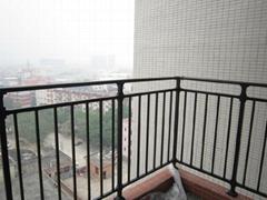 锌钢阳台防护栏小区商品房室内阳台天台安全隔离防护栏杆