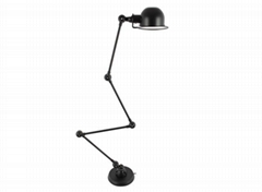 Industrial Arm Adjustable Task Floor Lamp