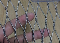 AISI 304 stainless steel Ferrule type cable mesh