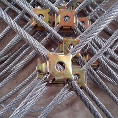 Stainless Steel Wire Rope Net / X Tend Cable Mesh 1.2MM To 3.2 MM