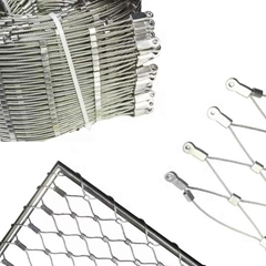 316 Inox Cable Webnet Stainless Steel Rope Wire Mesh 1 buyer