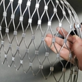 Hot Sale Stainless Steel Aviary Mesh Zoo Rope Mesh Animal Enclosure Wire Rope Me