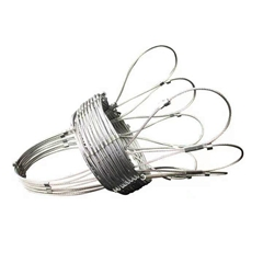 Flexible Stainless steel wire rope mesh net/ferrule cable Zoo Mesh/Bird netting