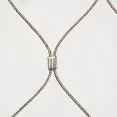 Metal inox rope mesh for anti-theft metal mesh bag with security rope mesh