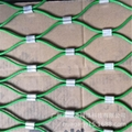 Decorative rope mesh stainless steel 304 316 chain link mesh 10