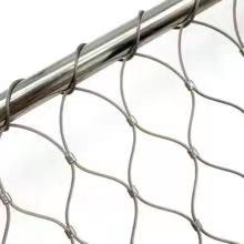 Decorative rope mesh stainless steel 304 316 chain link mesh 19