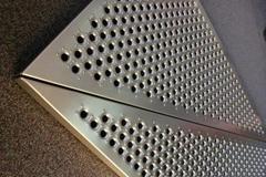 Ga  anized Perforated Metal Mesh Sheet