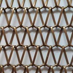 Fashionable decorative mesh /Metal mesh curtain/China factory supply hot sale Th