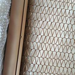 decorative spiral weave mesh conveyor belt metal mesh for buildings