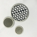 stainless steel filter disc with rim