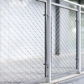 OEM ODM Flexible 316 Stainless Steel Safety Zoo Wire Rope Mesh Fence