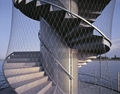 Stainless Steel Wire Rope Stair Railing Security Garden Fence/Balustrades Mesh