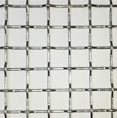 304 fine stainless steel wire rope netstainless steel crimped wire mesh