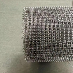 2x2 3x3mm hole heat resistant crimped wire mesh / SUS304 stainless steel firepla