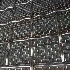 1 2 3 4 5 mesh stainless steel 304 316 316L crimped wire mesh