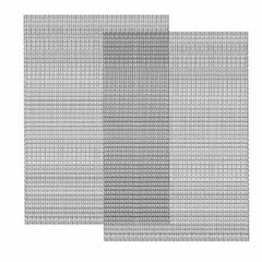 5mm wire diameter stainless steel crimped wire mesh for cultivation